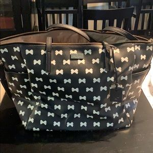 Kate Spade bow diaper bag only.